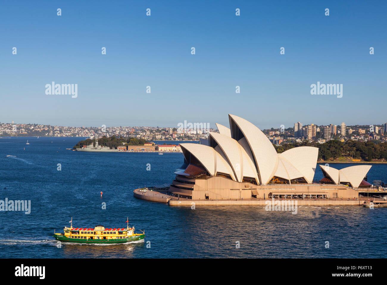 Sydney Opera House, Darling Harbour, Sydney, New South Wales, Australia Stock Photo