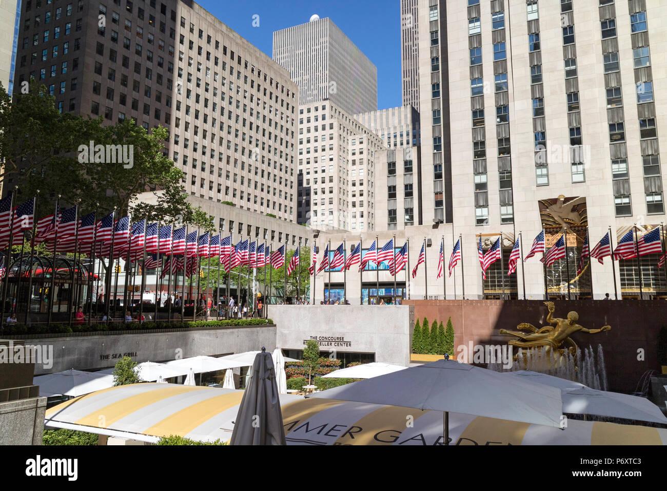 Rockefeller Center New York Shoulder Patch