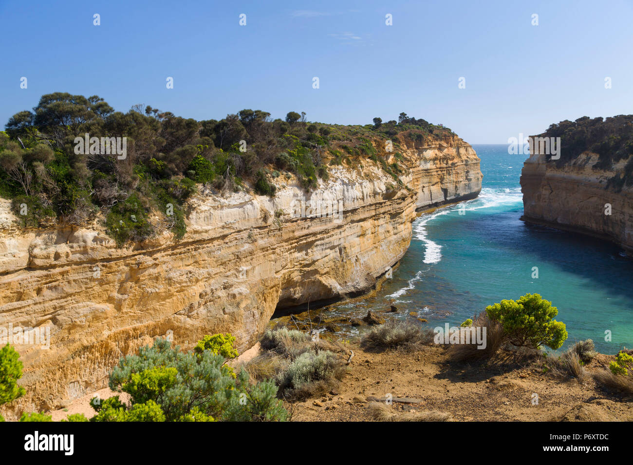 Loch Ard Gorge, Port Campbell National Park, Great Ocean Road, Victoria, Australia - Stock Image