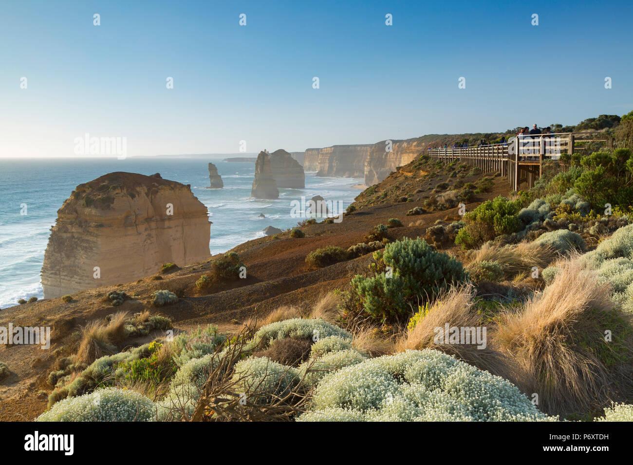 Twelve Apostles, Port Campbell National Park, Great Ocean Road, Victoria, Australia - Stock Image