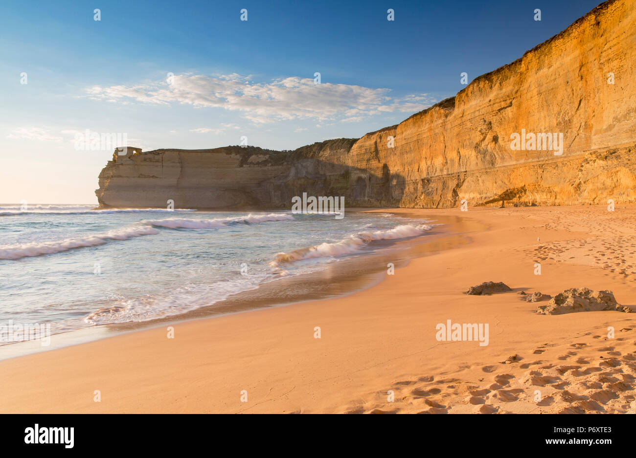 Beach at Gibson Steps, Port Campbell National Park, Great Ocean Road, Victoria, Australia Stock Photo