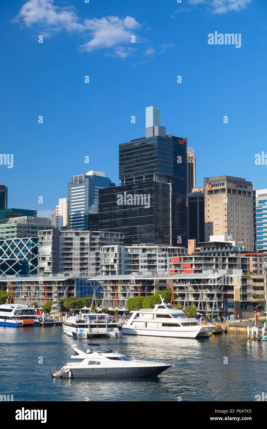 Darling Harbour, Sydney, New South Wales, Australia - Stock Image