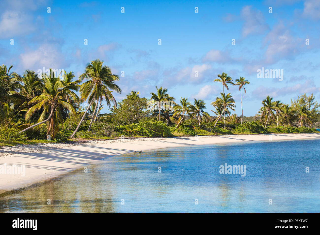 Bahamas, Abaco Islands, Elbow Cay, Tihiti beach Stock Photo