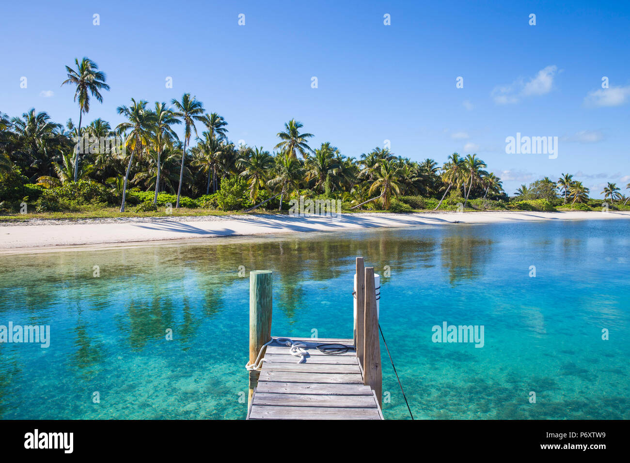 Bahamas, Abaco Islands, Elbow Cay, Tihiti beach - Stock Image