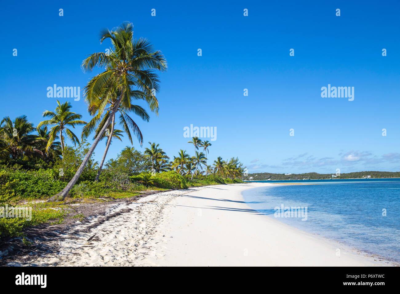 Bahamas, Abaco Islands, Elbow Cay, Tihiti beach - Stock Image