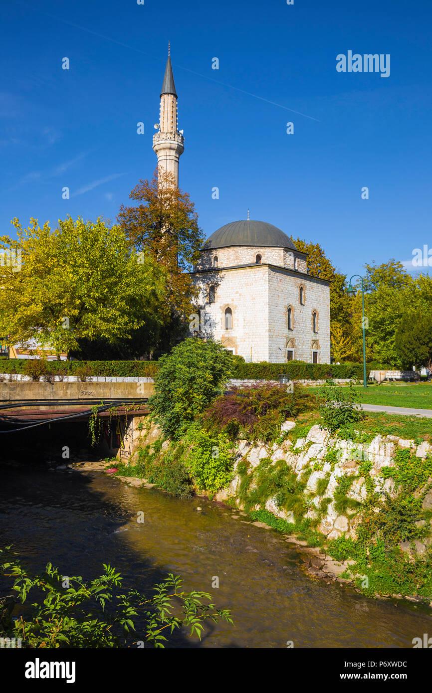 Bosnia and Herzegovina, Sarajevo, Ali Pasha Mosque - Stock Image