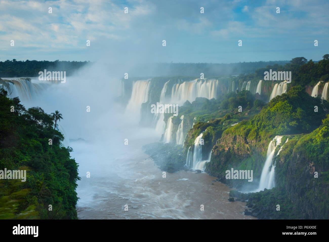 Iguacu Falls, Parana State, Brazil - Stock Image