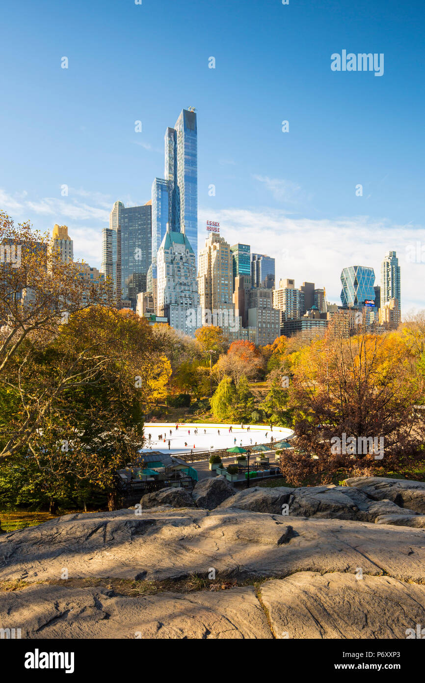 Central Park, Manhattan, New York City, USA - Stock Image