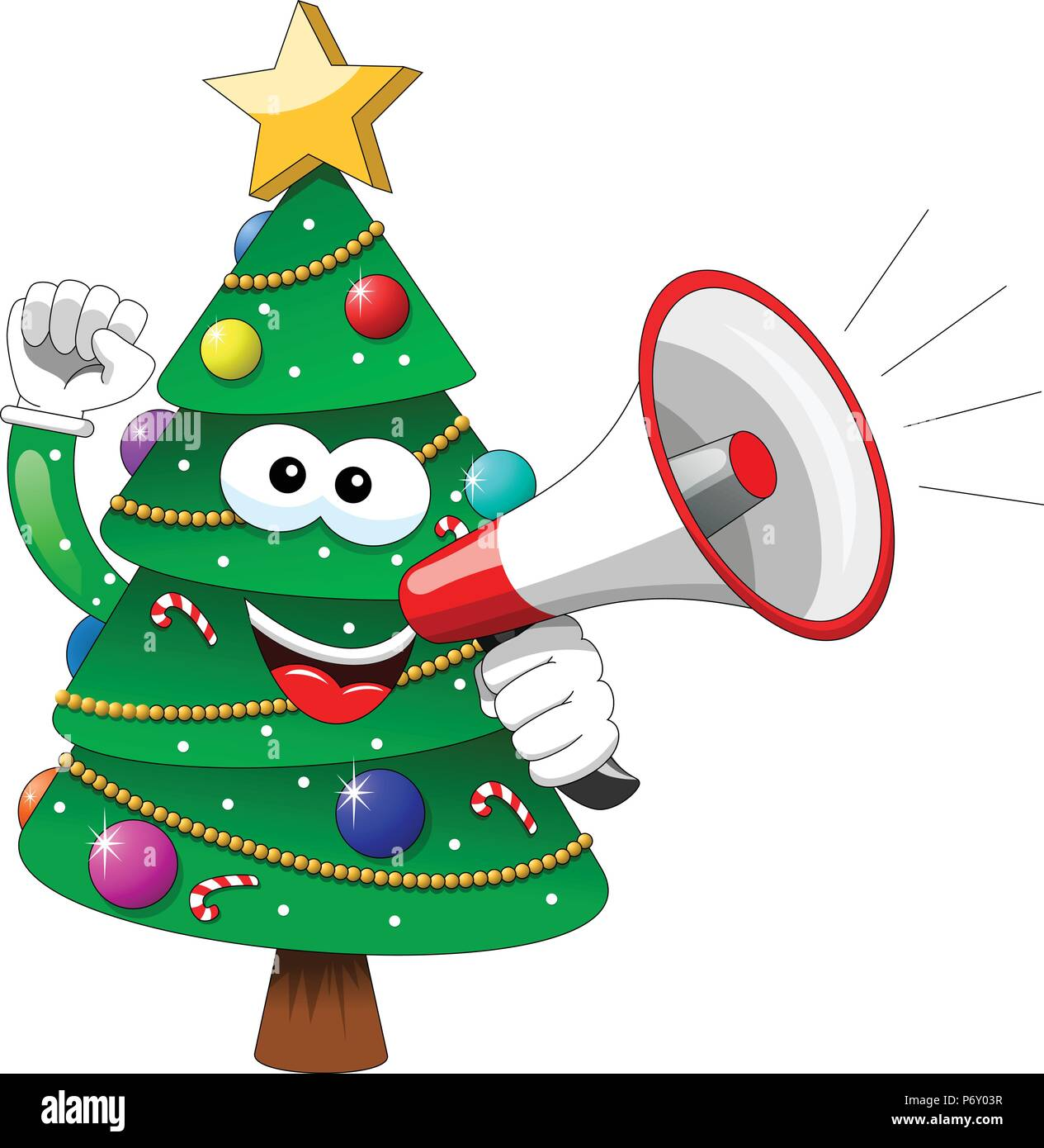 Cartoon Xmas Tree Speaking With Megaphone Isolated Stock Vector Image Art Alamy Download 27,000+ royalty free xmas tree cartoon vector images. https www alamy com cartoon xmas tree speaking with megaphone isolated image210805163 html
