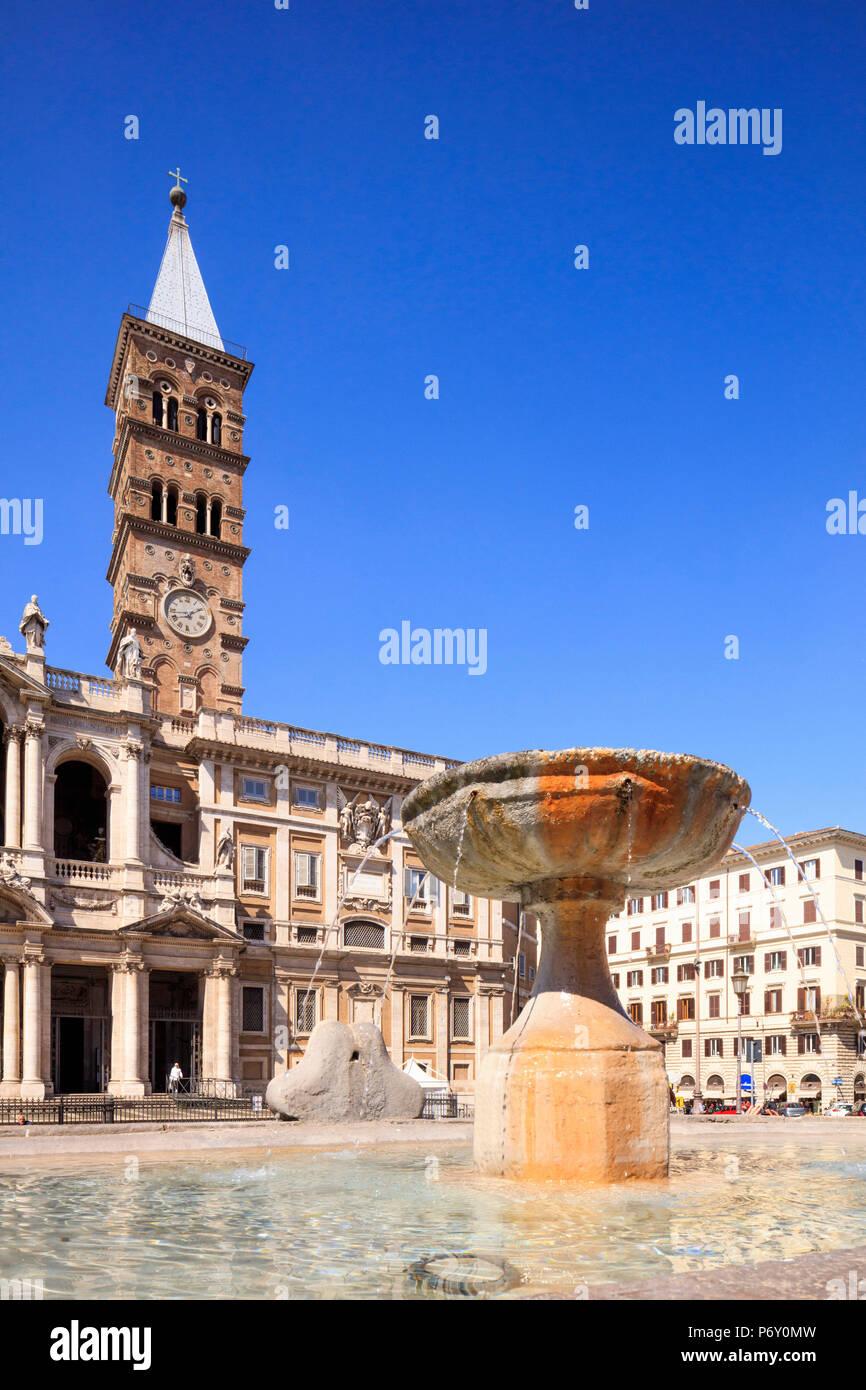 Italy, Rome, Santa Maria Maggiore church - Stock Image