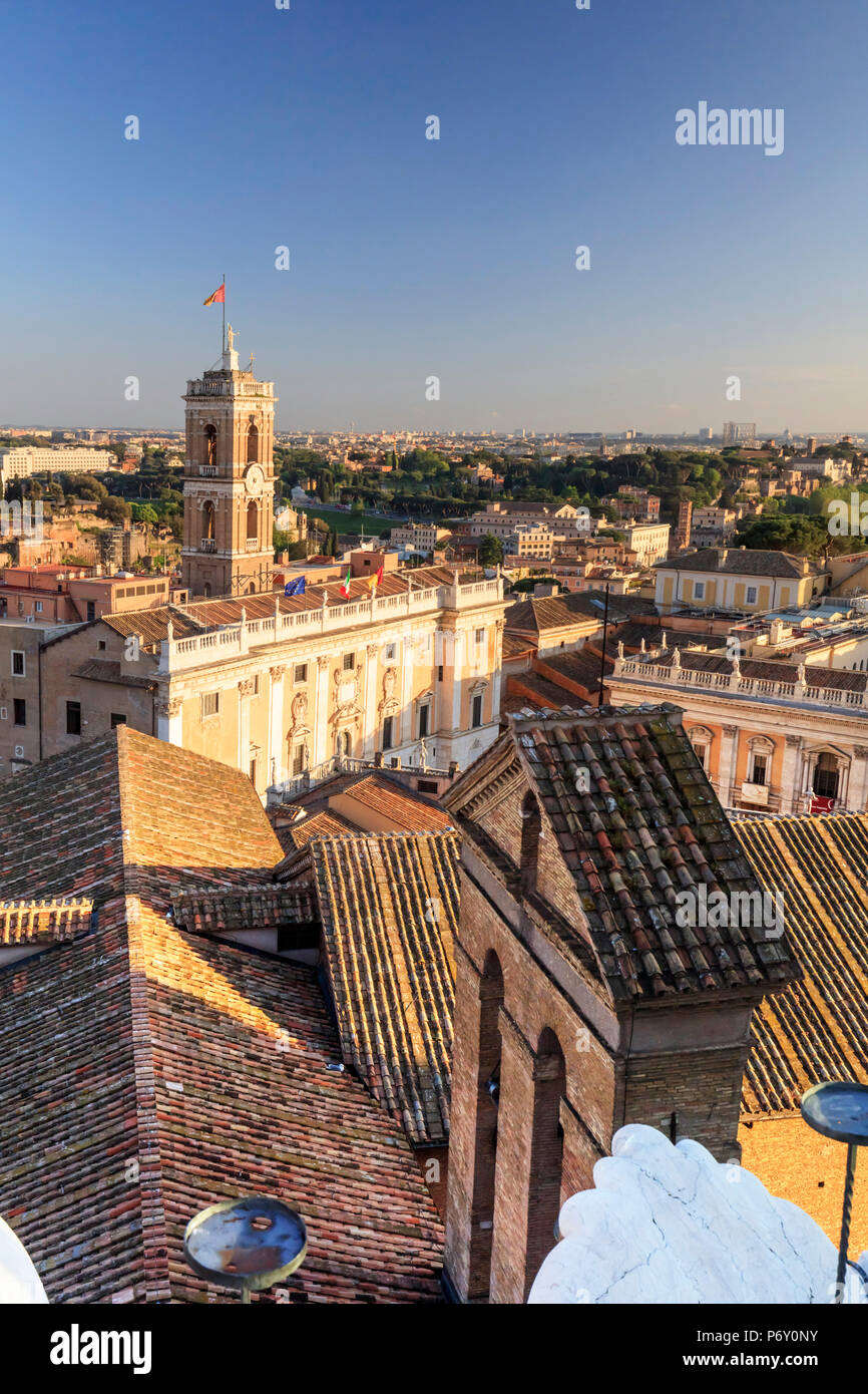 Italy, Rome, Capidoglio, home of the city Mayor - Stock Image