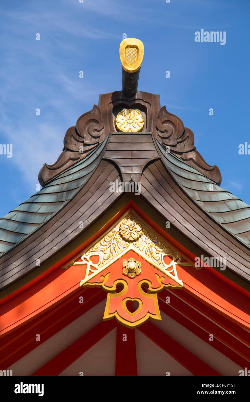Ikuta Jinja shrine, Kobe, Kansai, Japan Stock Photo