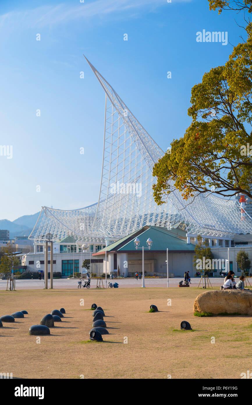 Maritime Museum, Kobe, Kansai, Japan - Stock Image