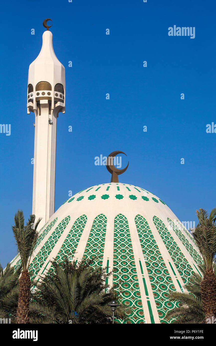 Kuwait, Kuwait City, Fatima Mosque - Stock Image