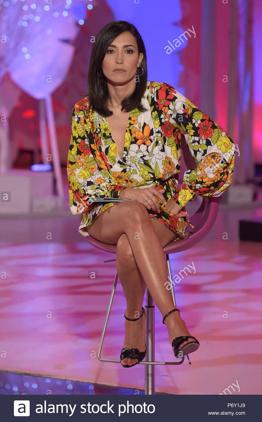 Caterina Balivo milano 12-06-2018 - Stock Image