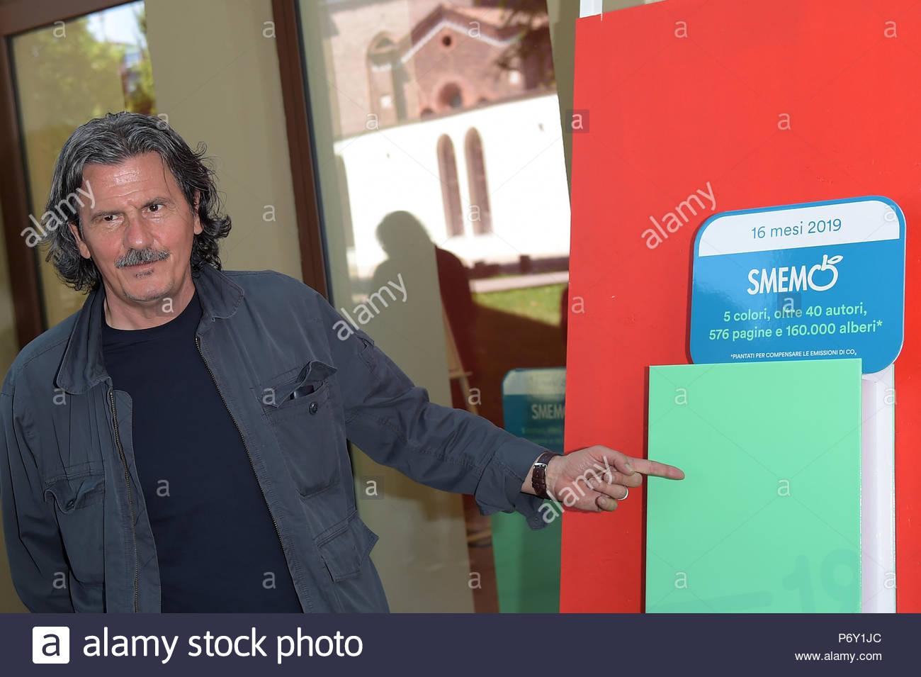 Nico Colonna milano 12-06-2018 - Stock Image