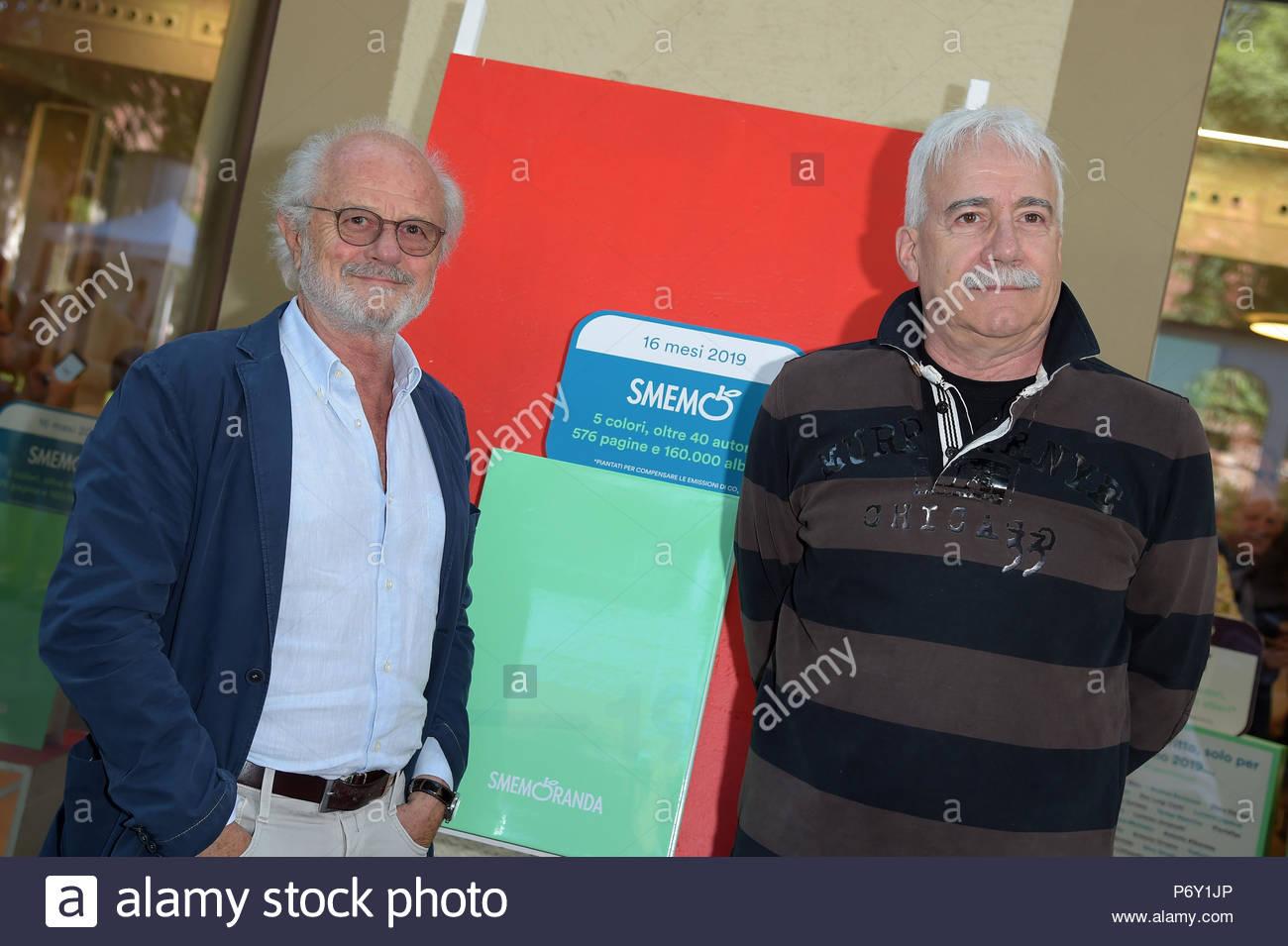 Gino & Michele milano 12-06-2018 - Stock Image