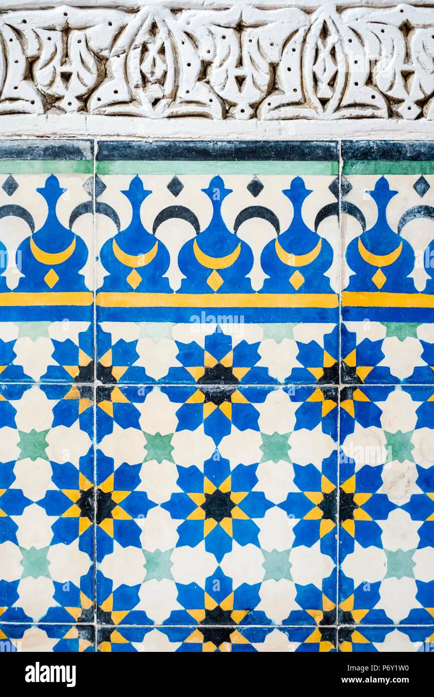 Moroccan Ceramic Tiles Stock Photos & Moroccan Ceramic Tiles Stock ...