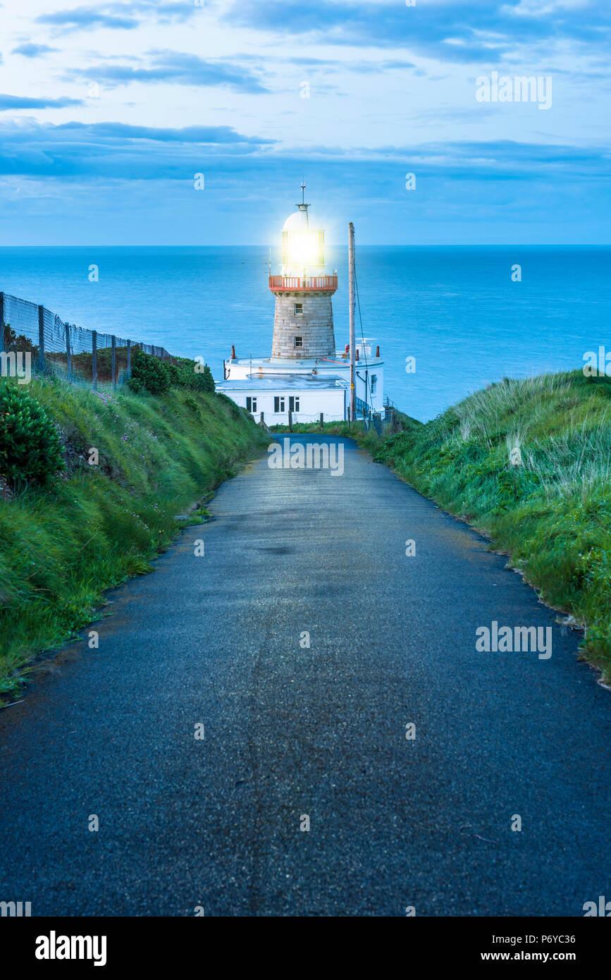 Baily lighthouse, Howth, County Dublin, Ireland, Europe. - Stock Image