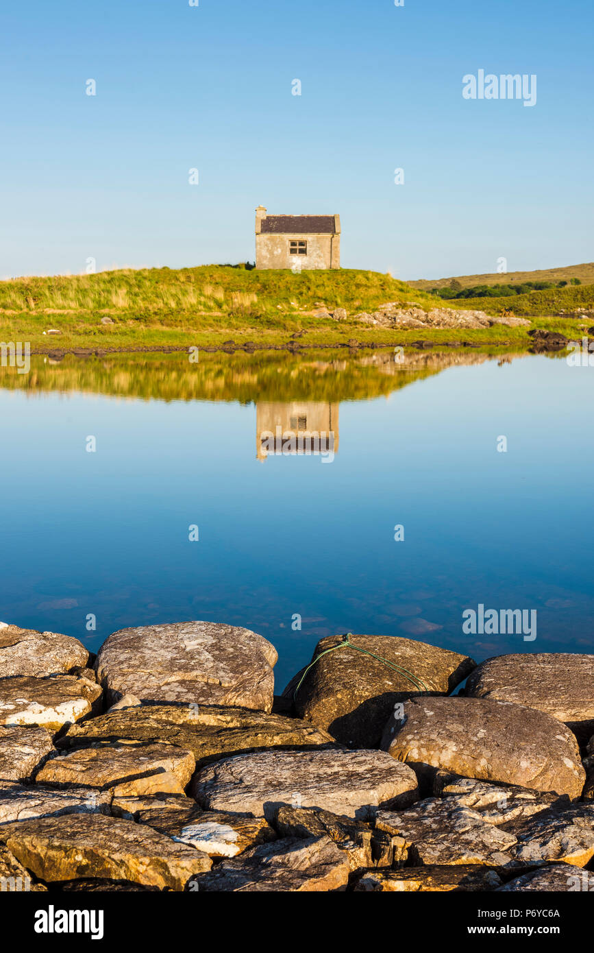 Connemara, County Galway, Connacht province, Republic of Ireland, Europe. Countryside landscape. - Stock Image