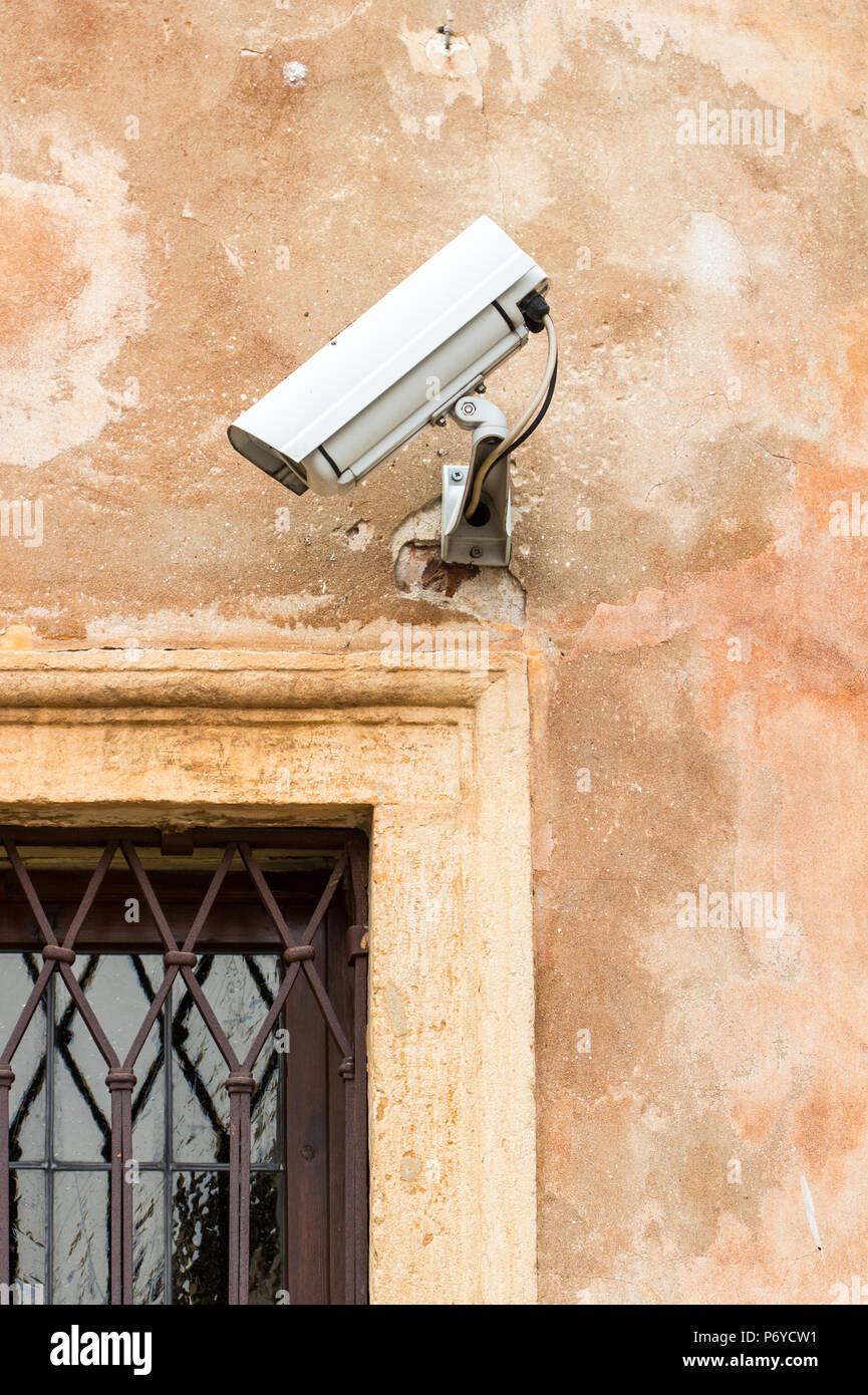 Security camera / CCTV - Stock Image