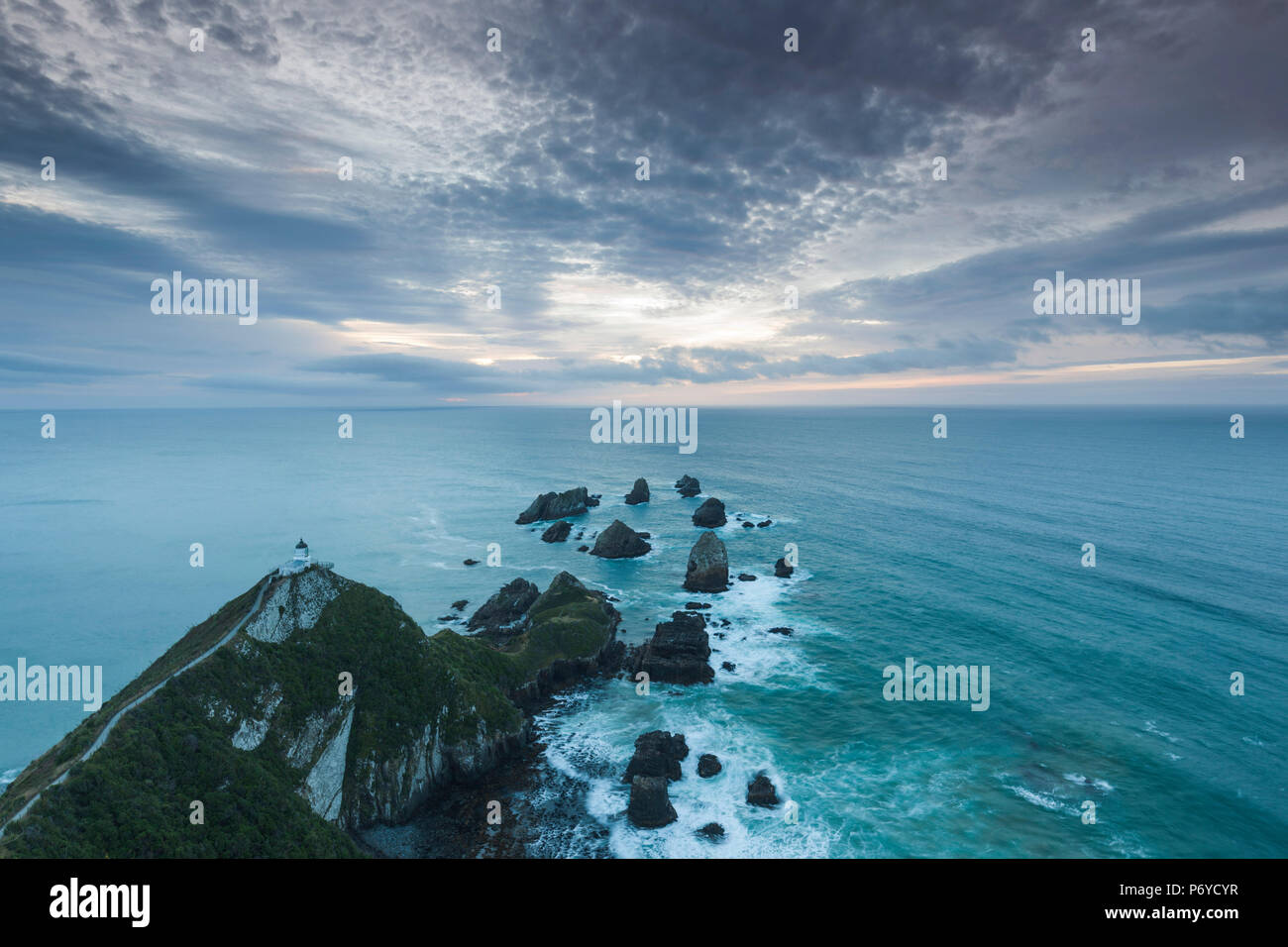 New Zealand, South Island, Southland, The Catlins, Nugget