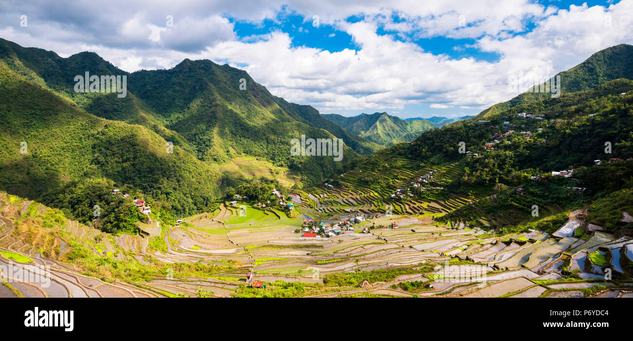 Asia, South East Asia, Philippines, Luzon, Batad - Stock Image