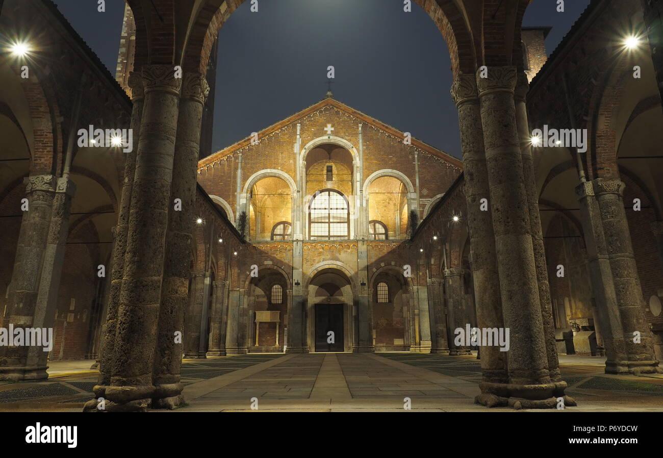 Milan, Italy - Stock Image