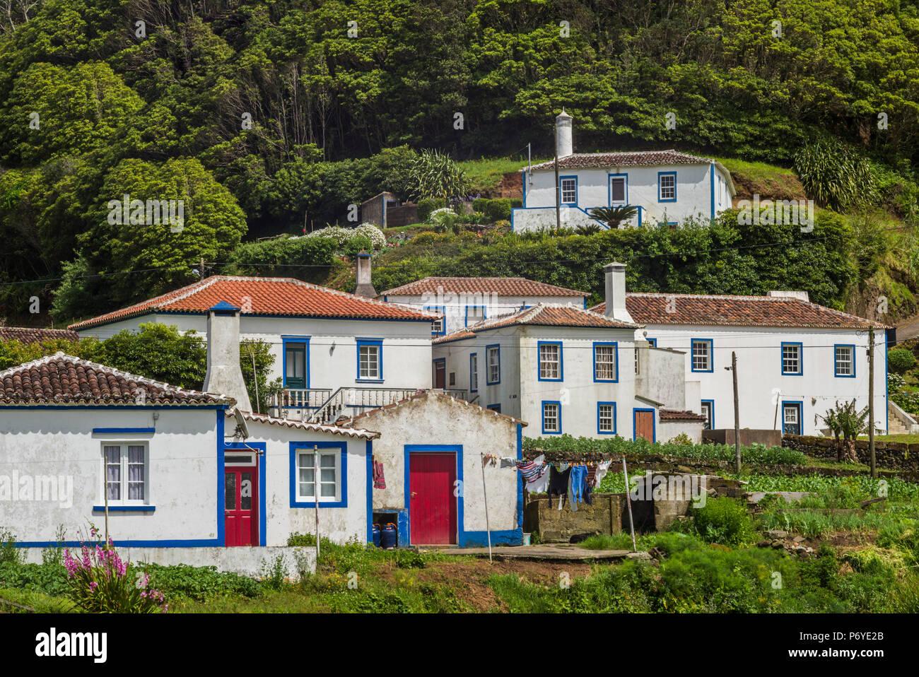 Portugal, Azores, Santa Maria Island, Santa Barbara - Stock Image