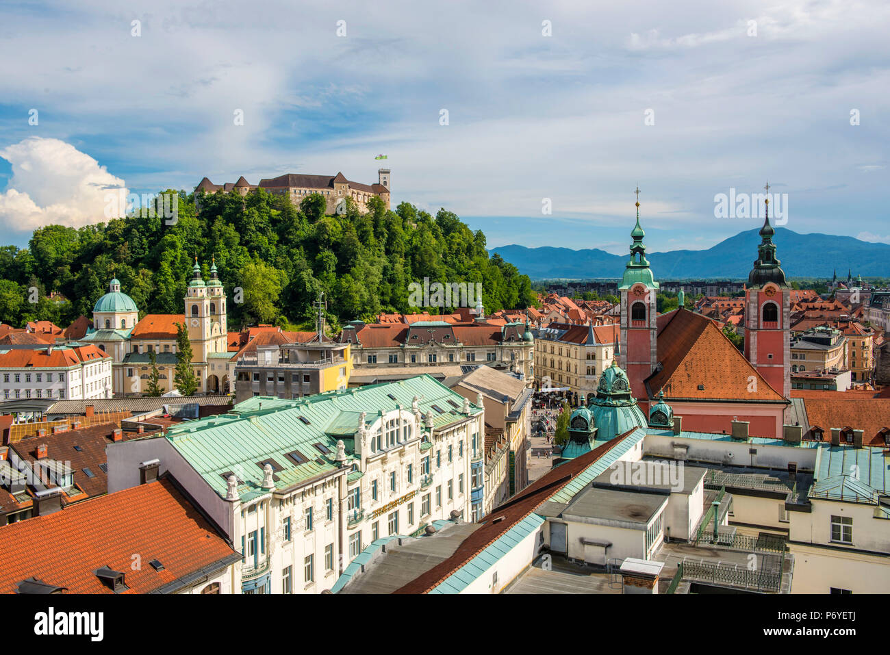 Ljubljana, Slovenia, East Europe. - Stock Image