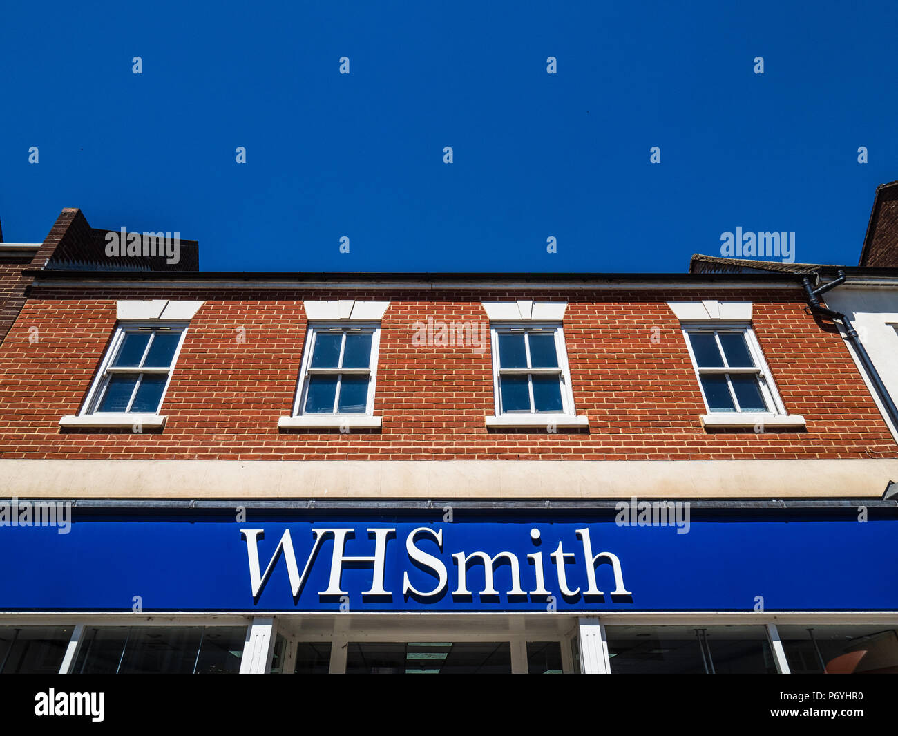 WH Smith Storefront - Stock Image