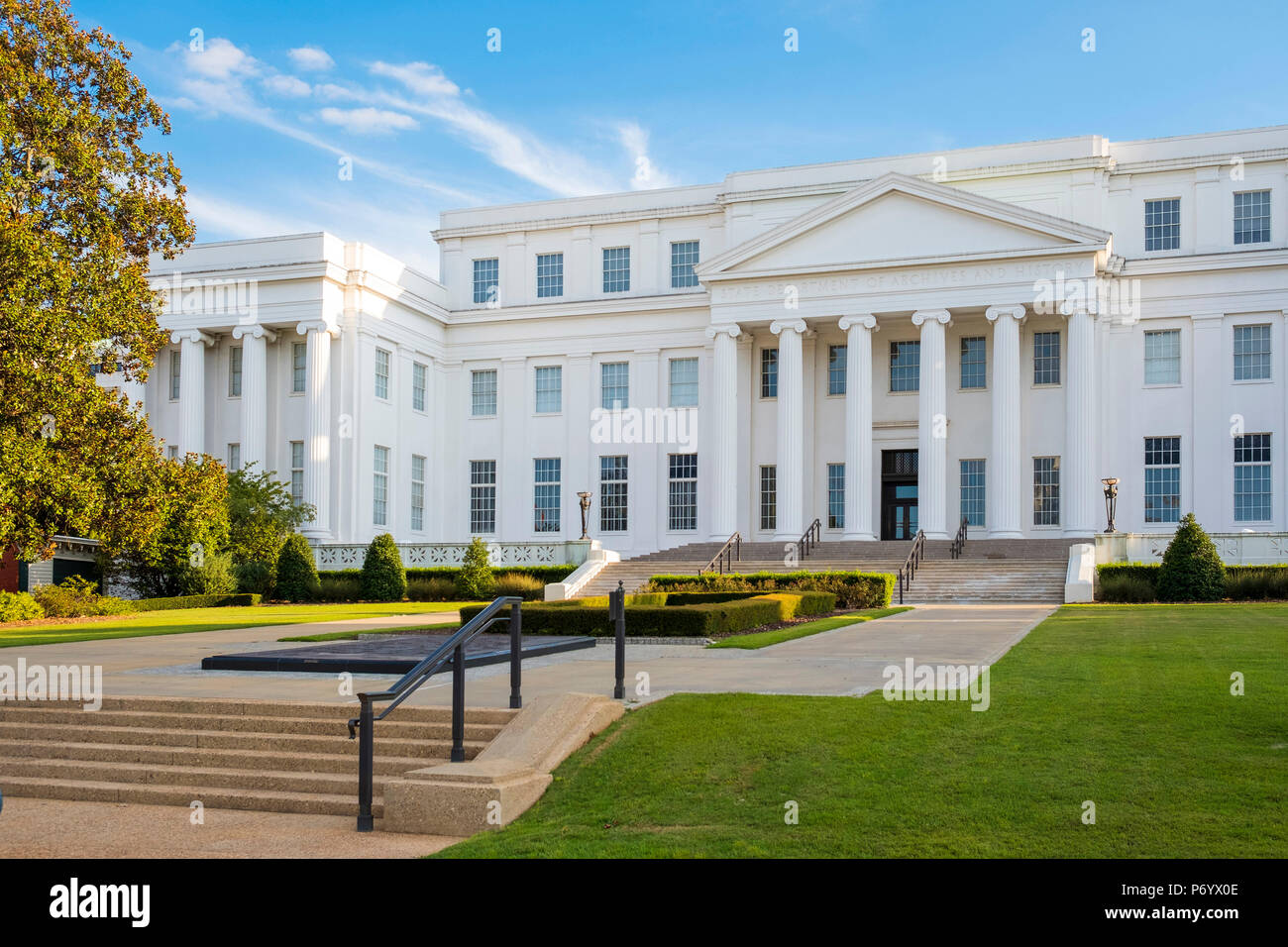 United States, Alabama, Montgomery. Alabama Department of Archives and History. - Stock Image