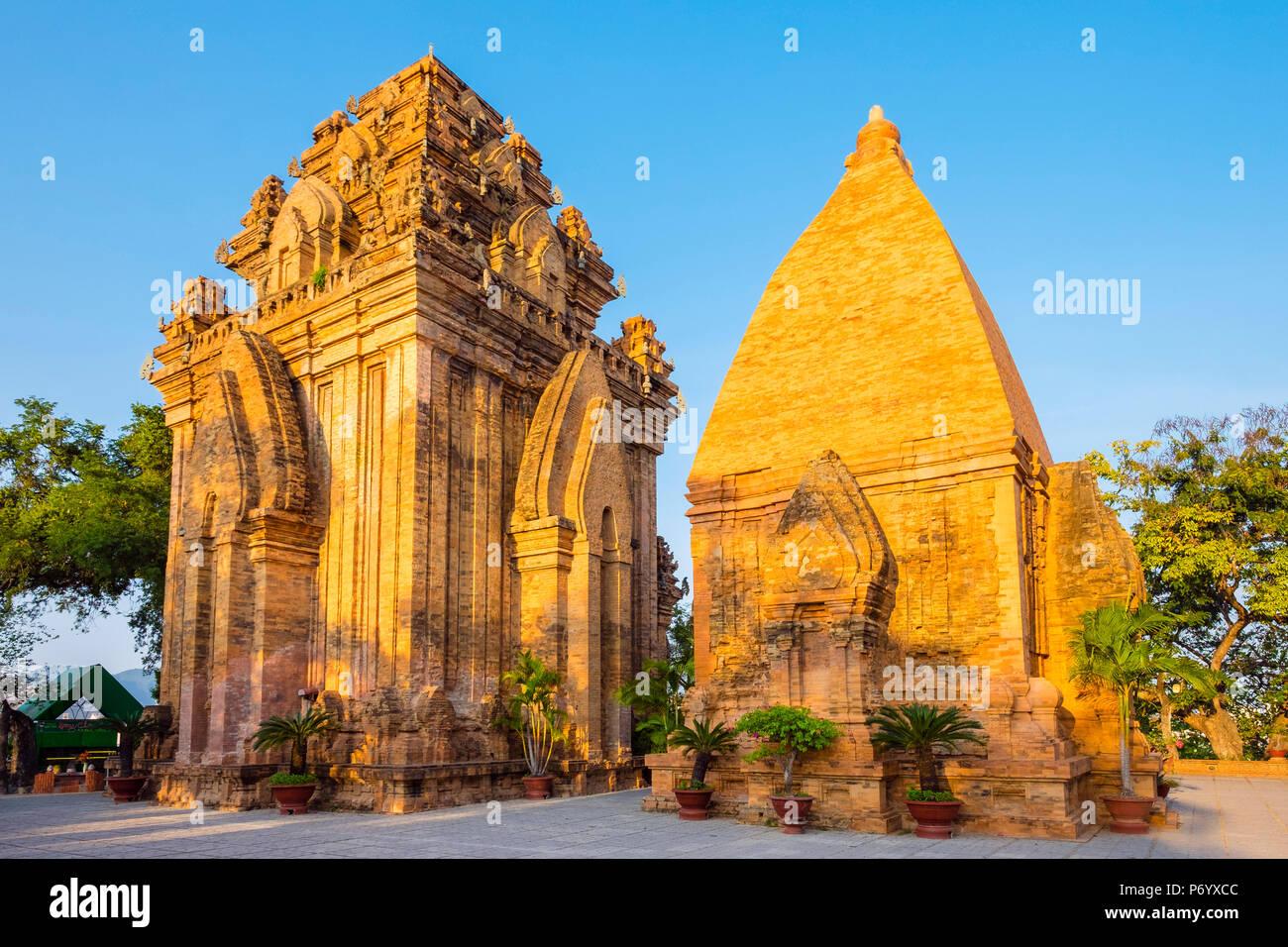 Po Nagar temple Cham towers, Nha Trang, Khanh Hoa Province, Vietnam - Stock Image