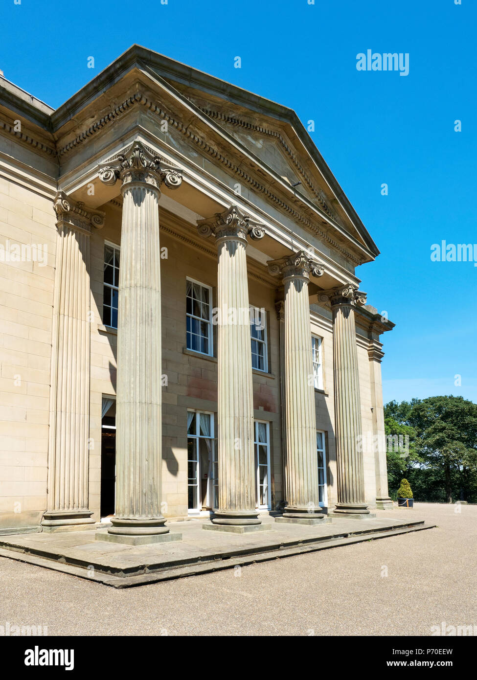 The Mansion in Roundhay Park Roundhay Leeds West Yorkshire England Stock Photo