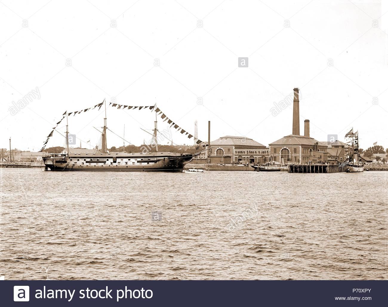 receiving ship wabash charlestown navy yard wabash ship