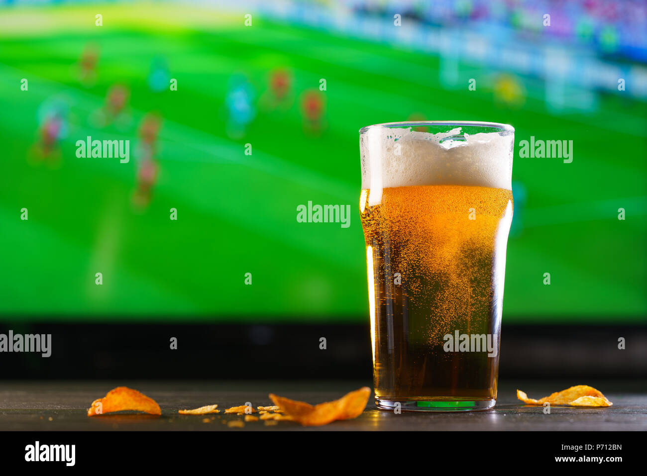 Watching Sport Lager Stock Photos Amp Watching Sport Lager