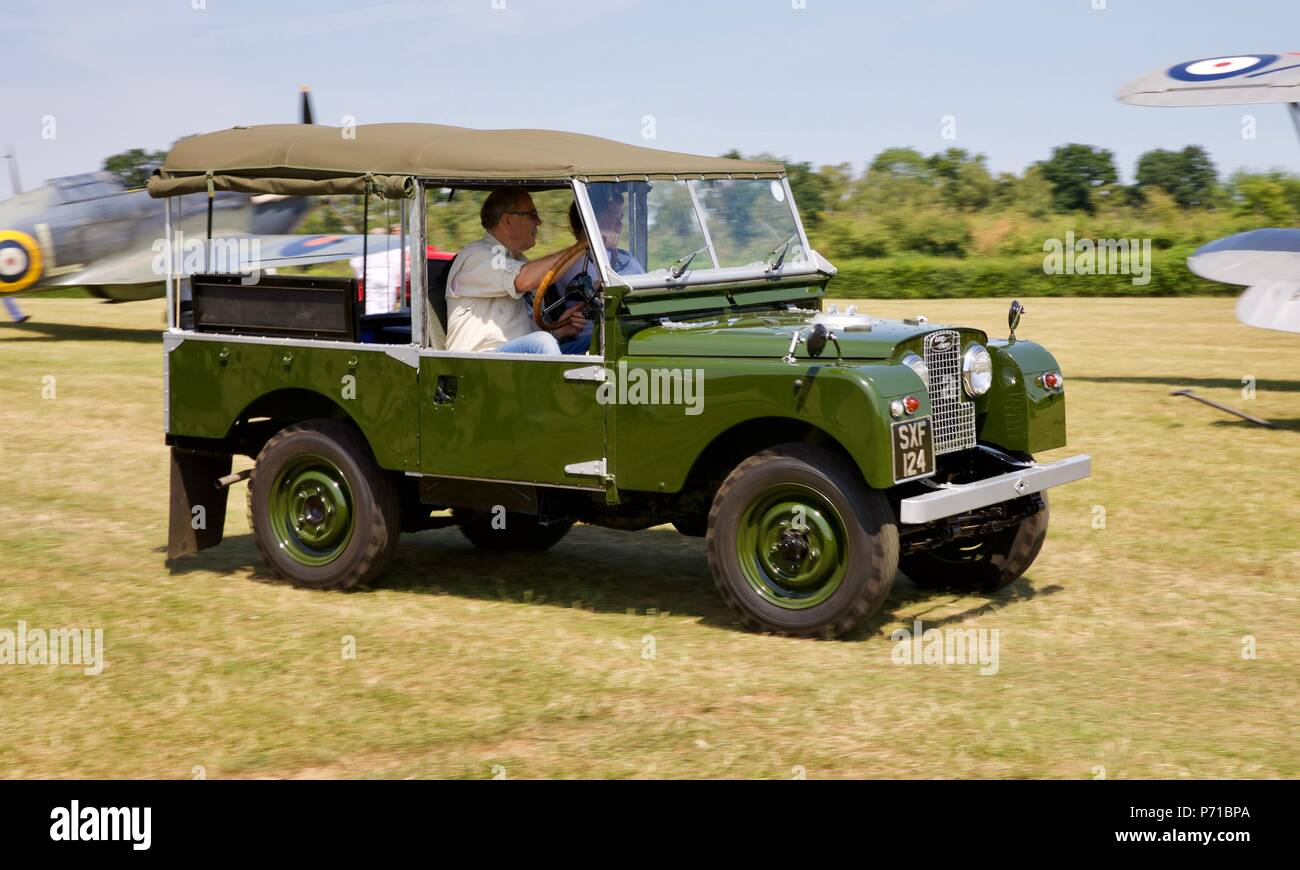 Drive Axle Stock Photos Images Alamy 1957 Land Rover S1 Wiring Diagram Series 1 At Shuttleworth Military Pageant Airshow On 1st July 2018