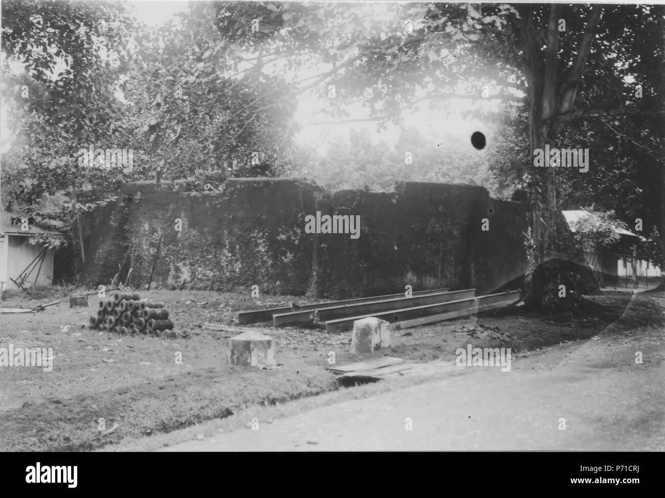 14 Gammalt fort. Sulawesi, Amurang. Indonesien - SMVK - 010669 - Stock Image
