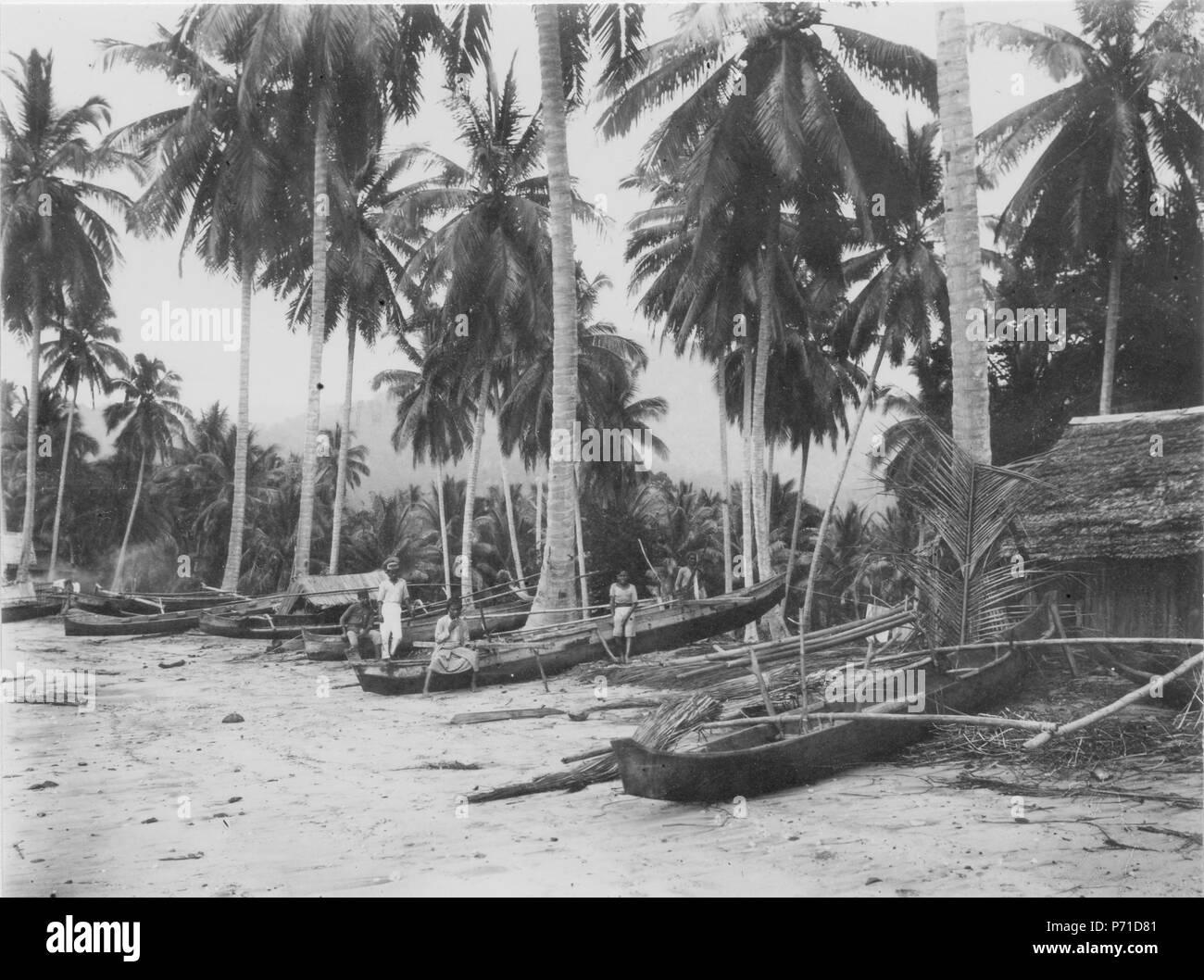 35 Kanoter vid stranden. Sulawesi. Indonesien - SMVK - 000294 - Stock Image