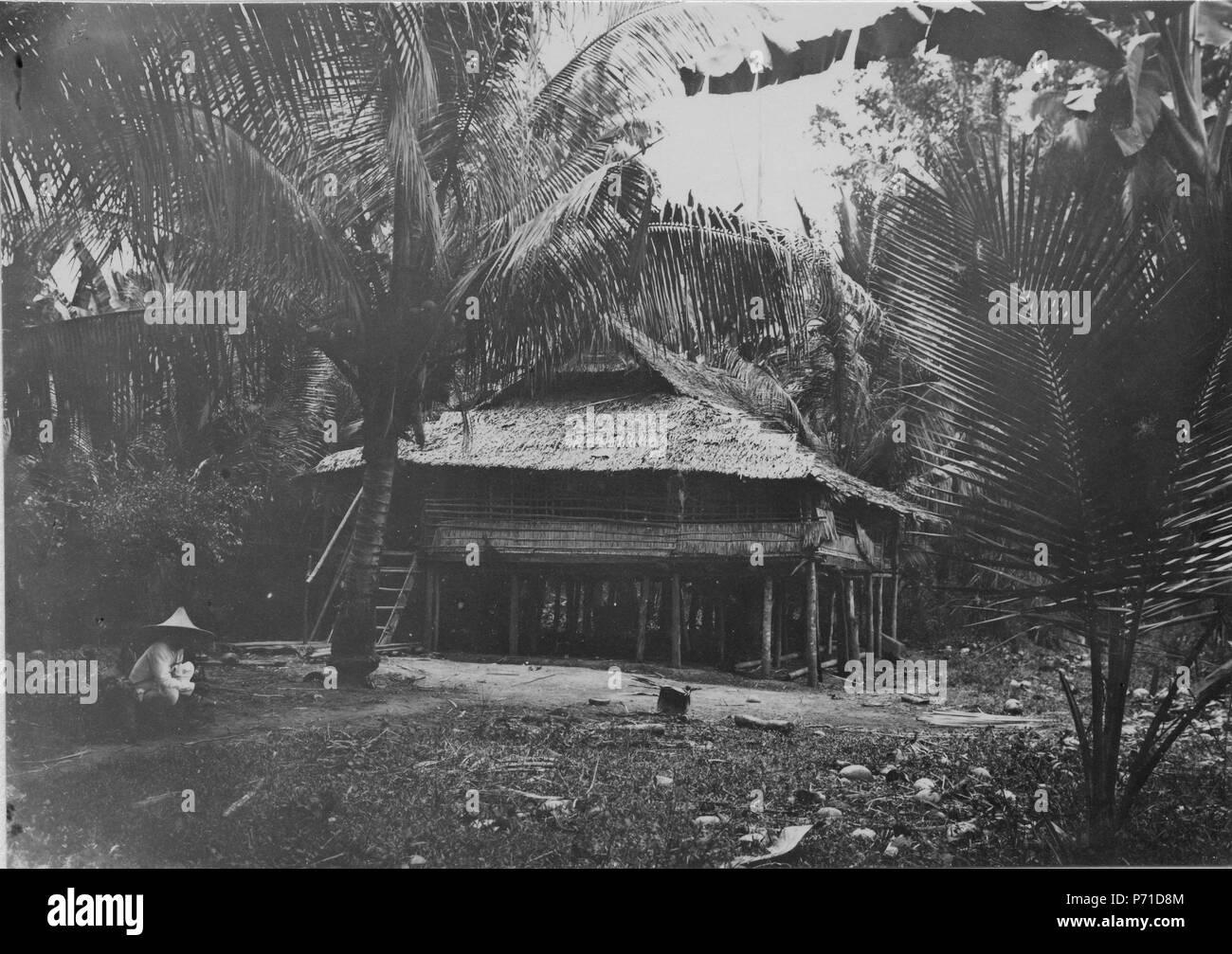 31 Hydda nära Bwool. Sulawesi. Indonesien - SMVK - 010670 - Stock Image