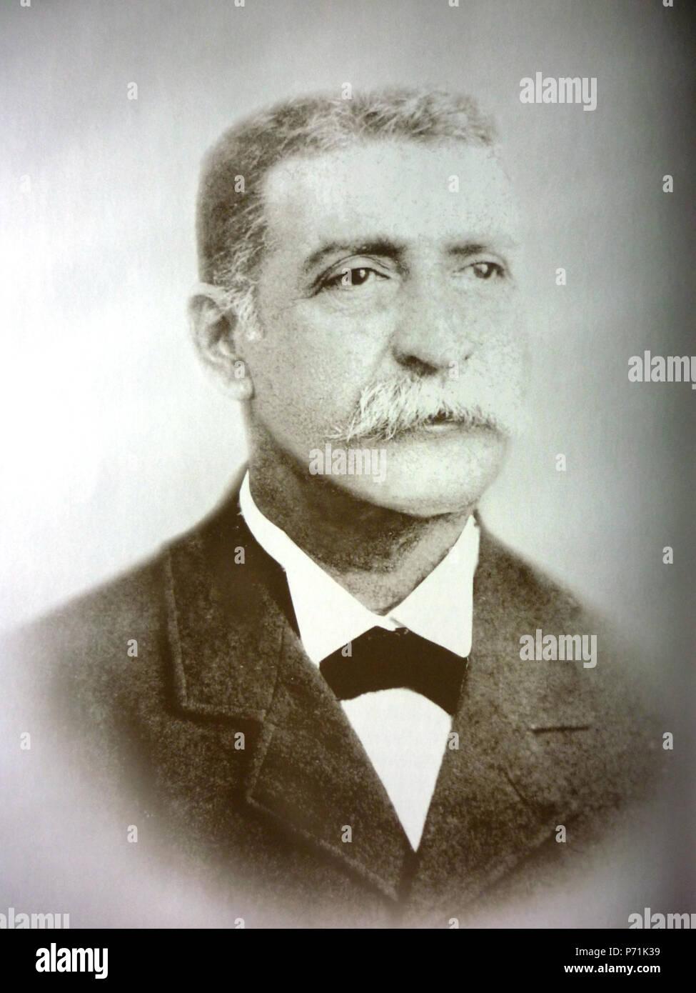 English: Pedro Jose Escalon, president of El Salvador (1903-1907) . 10 March 2013, 15:20:25 3 Escalon Stock Photo