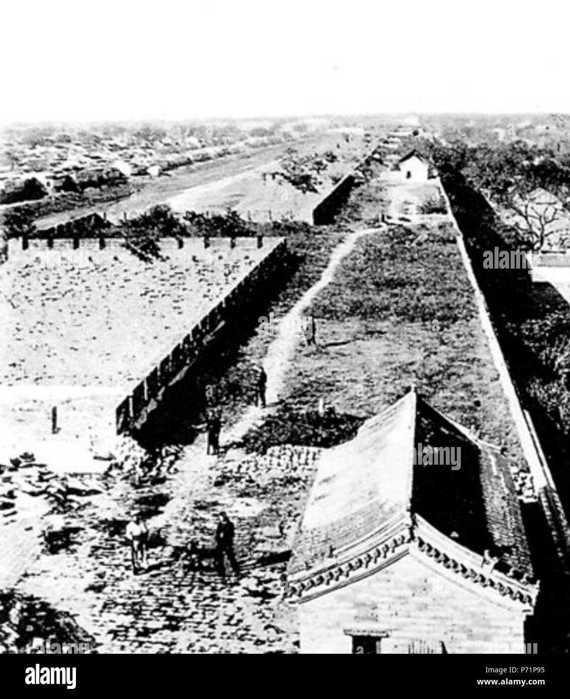 18 Blick vom Hatamên nach Westen - Stock Image