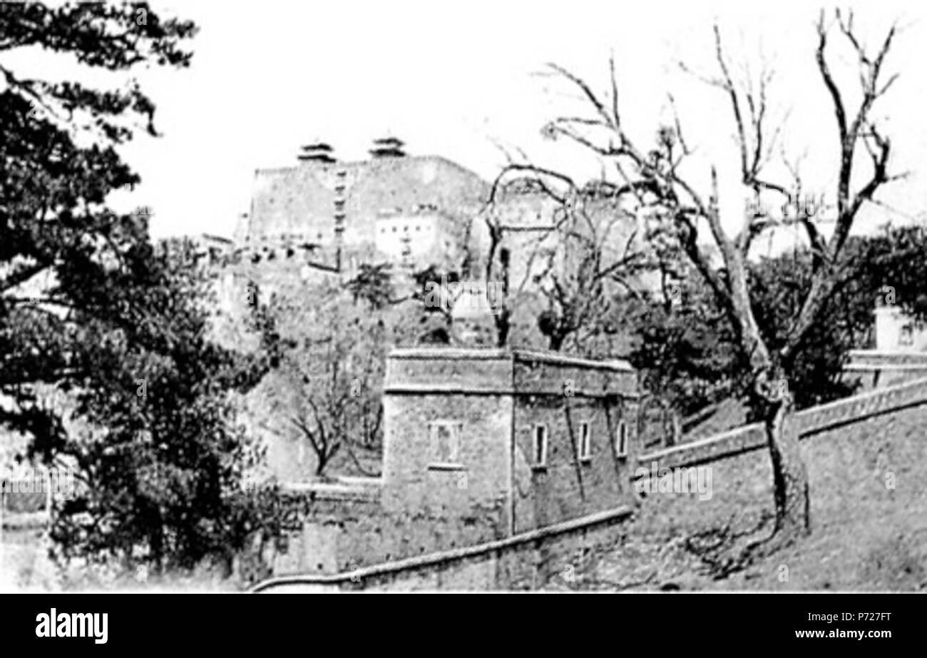 147 Jehols Tempel Ⅲ. Putala. Der berühmte Tempel Chinas, 1767-1771 von Chienlung nach dem Vorbilde der gleichnamigen Residenz des Dalai Lama bei Lhassa erbaut - Stock Image