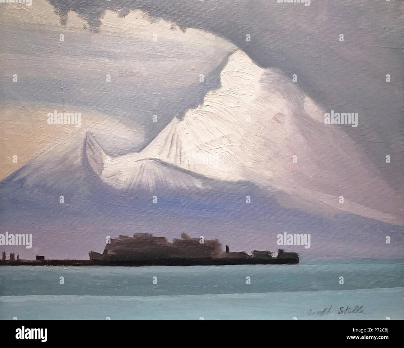 English Vesuvius Iii By Joseph Stella  Inches 25  5 Cm Oil On Canvas N A 48 Vesuvius Iii By Joseph Stella Oil On Canvas