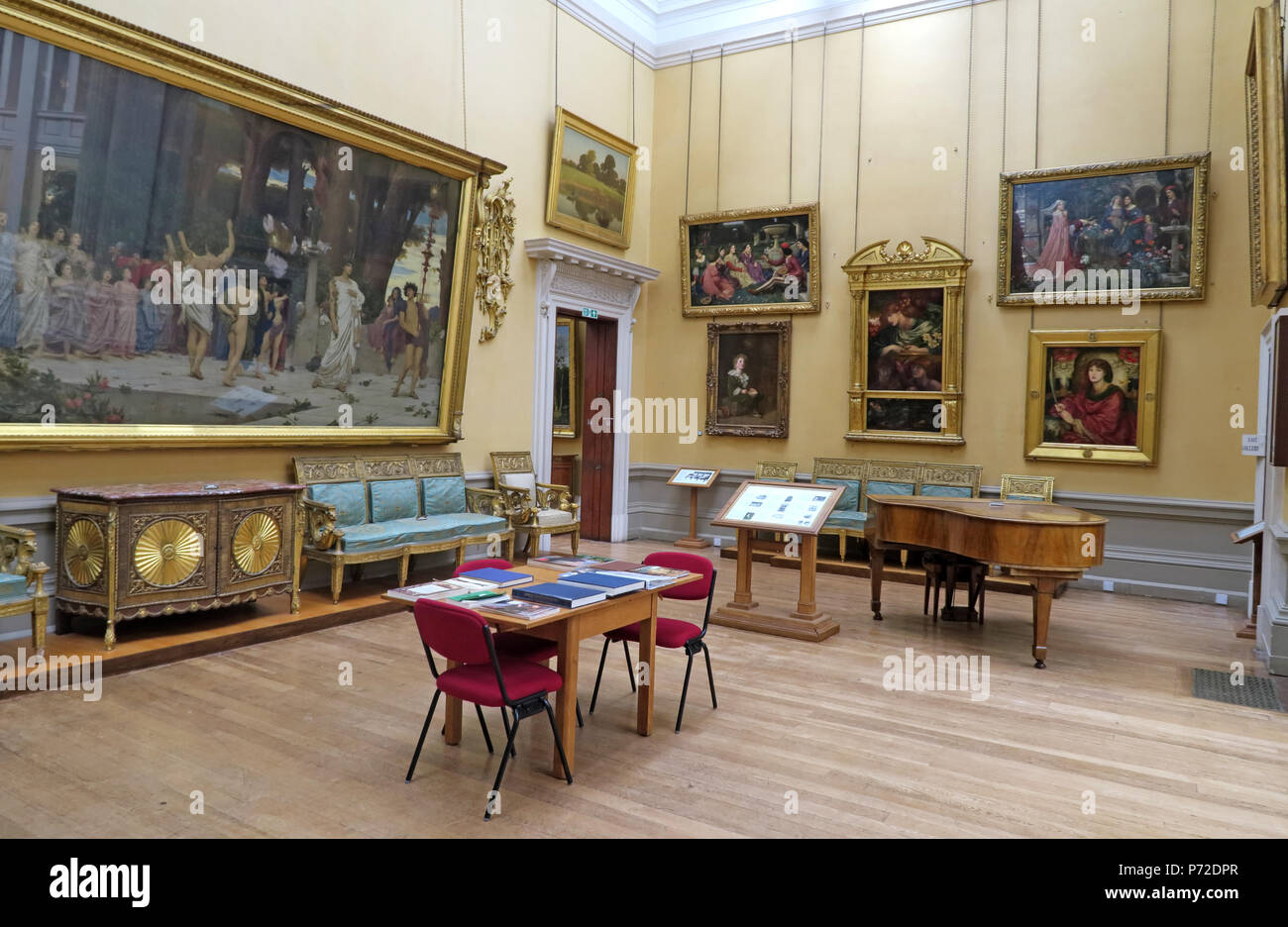 Lady Lever Art Gallery, Port Sunlight Village, Lower Rd, Bebington, Wirral, North West England, UK,  CH62 5EQ - Stock Image