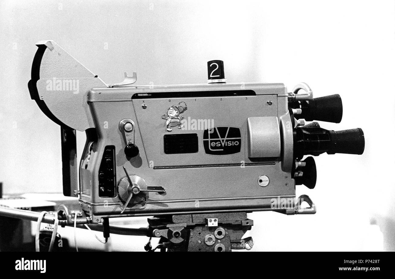 Tesvisio 1957 1965 The First Television Channel In Finland Marconi Merkkinen Tv Kamera