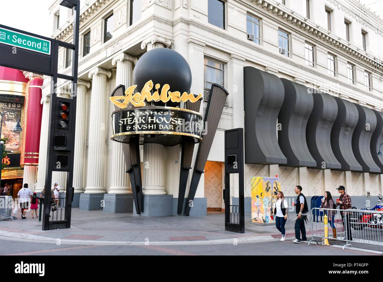 Ichiban Japanese Steakhouse, Reno, Nevada - Stock Image