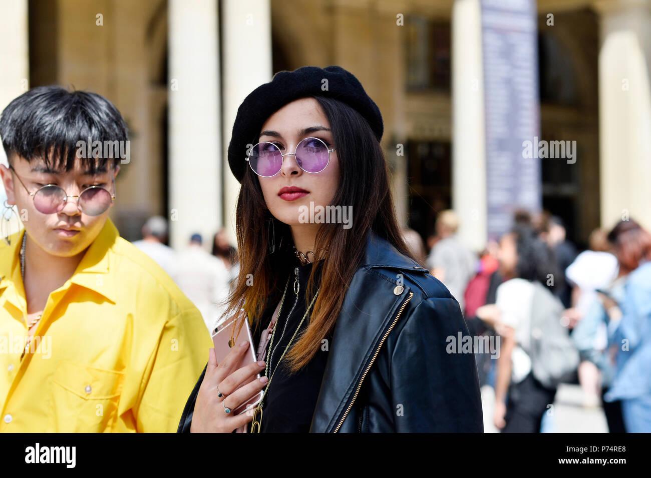 Streetstyle At Louis Vuitton Paris Fashion Week Men Spring Summer