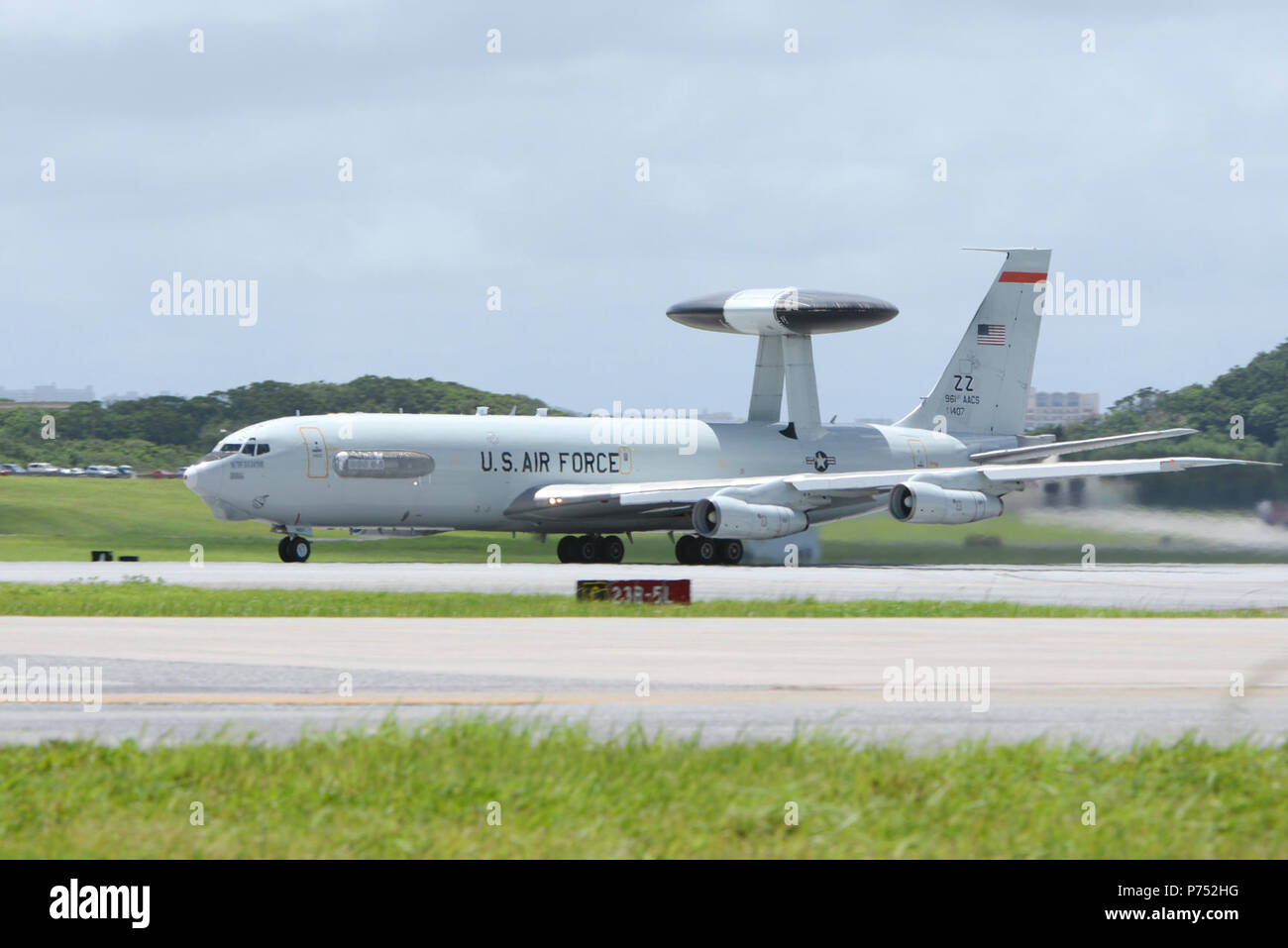 A U S  Air Force E-3 Sentry Airborne Warning and Control