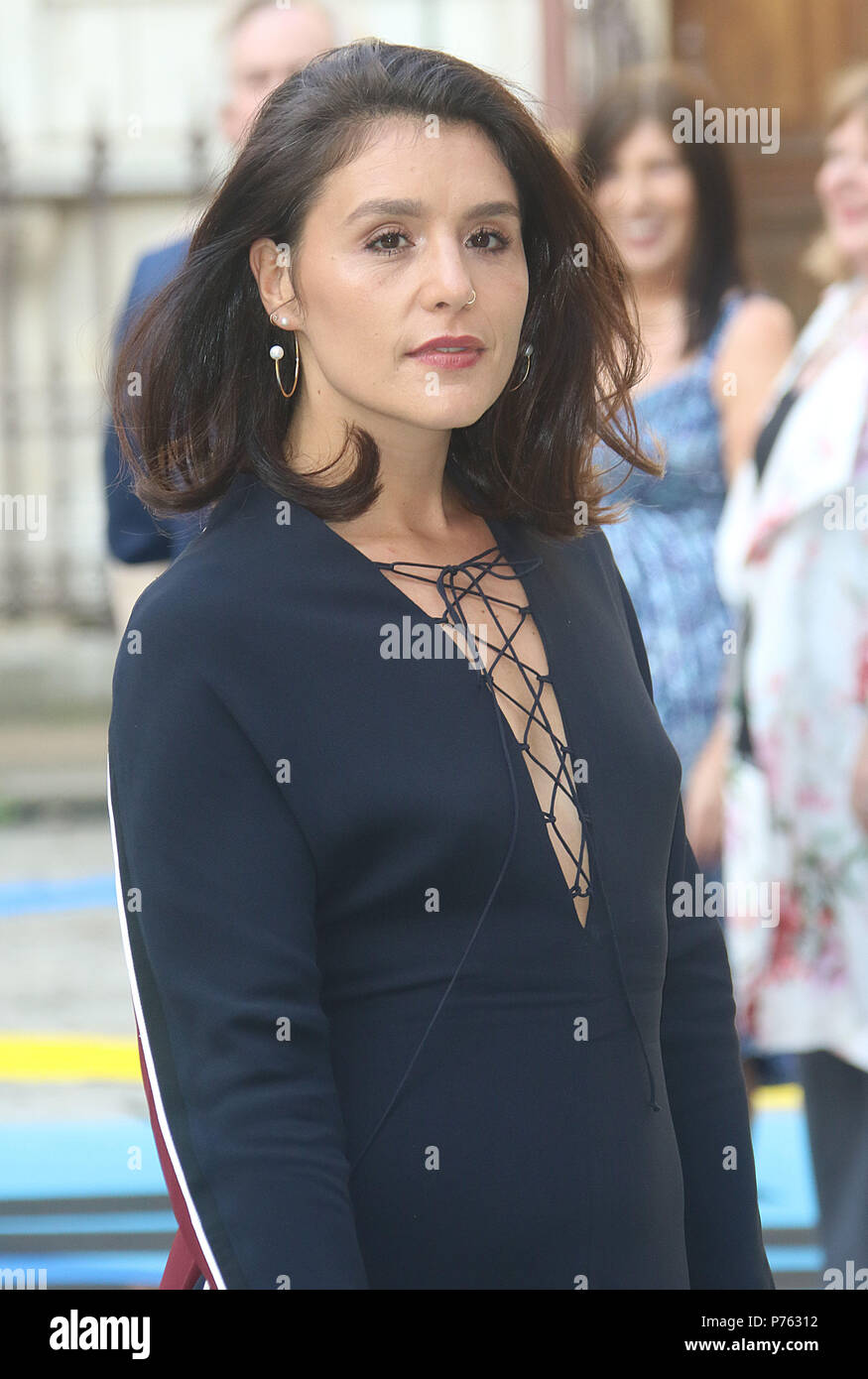 Jun 06, 2018 - Jessie Ware attending Royal Academy Of Arts 250th Summer Exhibition Preview Party at Burlington House in London, England, UK - Stock Image